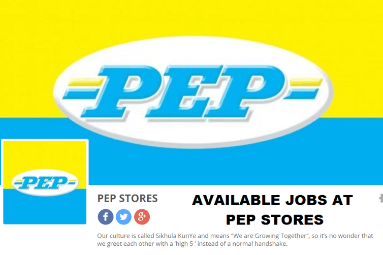 Pep Stores Retail Operations Learnership Programme