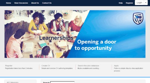 Standard Bank: Learnerships Applications