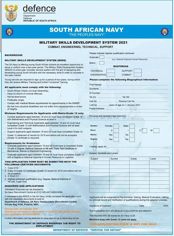 83051405_3680371008654546_7111241304050237440_o-1 Sa Navy Application Forms on for old, form for, federal credit union,